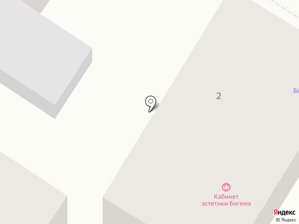 Богема на карте Геленджика