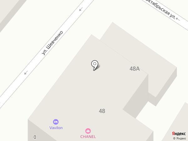 Вавилон Отель на карте Геленджика
