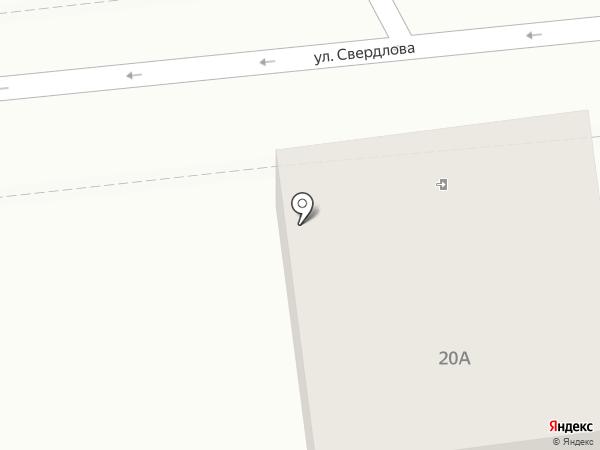 Эрмис на карте Геленджика