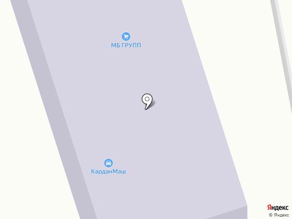 Ирбис на карте Жуковского
