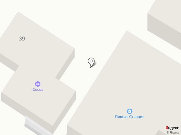 Фаворит на карте Геленджика