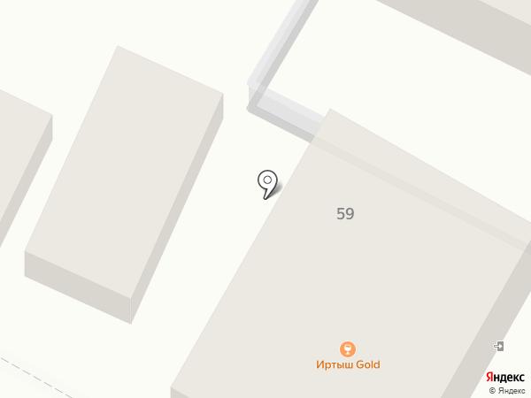 Магазин кондитерских изделий на карте Геленджика