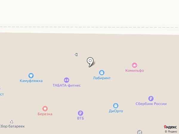 Алладин №458 на карте Балашихи