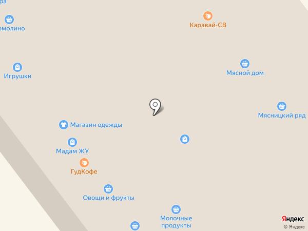 Магазин нижнего белья и купальников на карте Жуковского