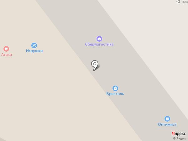 Фортуна Сервис+ на карте Жуковского