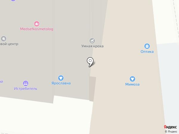 Медсэф на карте Жуковского