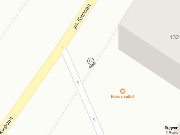 Экспресс-кофейня на карте Геленджика