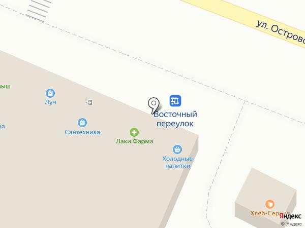Роспечать на карте Геленджика