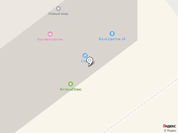 Наукоград на карте Жуковского
