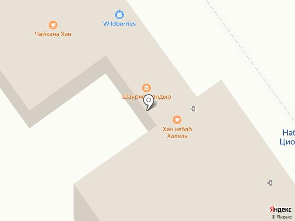 Магазин одежды и обуви на карте Жуковского