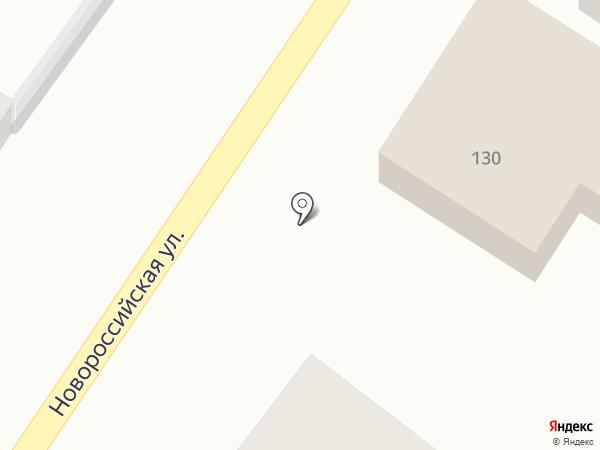Аквакомплекс на карте Геленджика