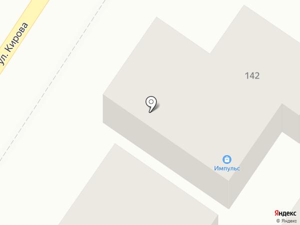 Импульс на карте Геленджика