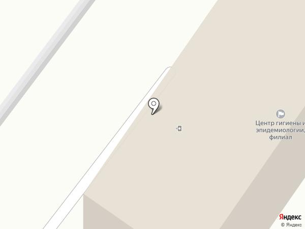 Территориальный отдел Управления Федеральной службы по надзору в сфере защиты прав потребителей и благополучия человека на карте Геленджика
