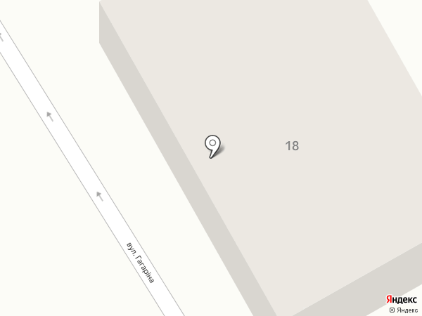 Хозтовары, магазин на карте Ханжёнково-Северного