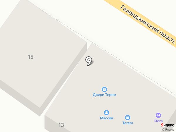 Магазин дверей на карте Геленджика