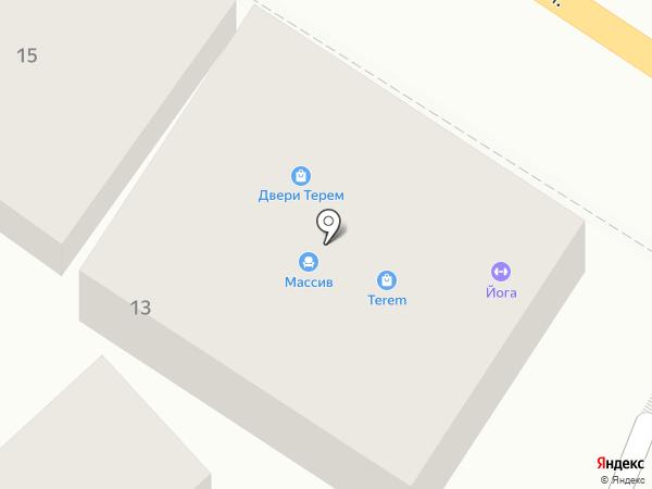 Город Мастеров на карте Геленджика