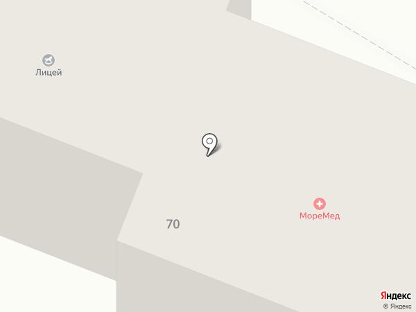 МореМед на карте Геленджика
