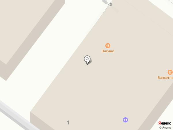 Энсино на карте Геленджика