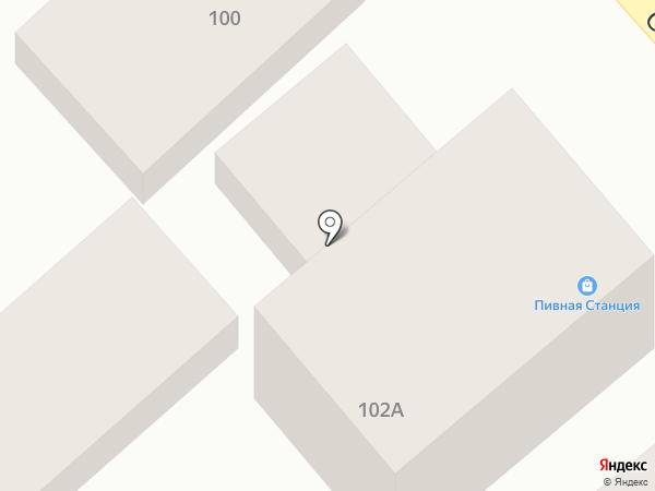 Пивная станция на карте Геленджика