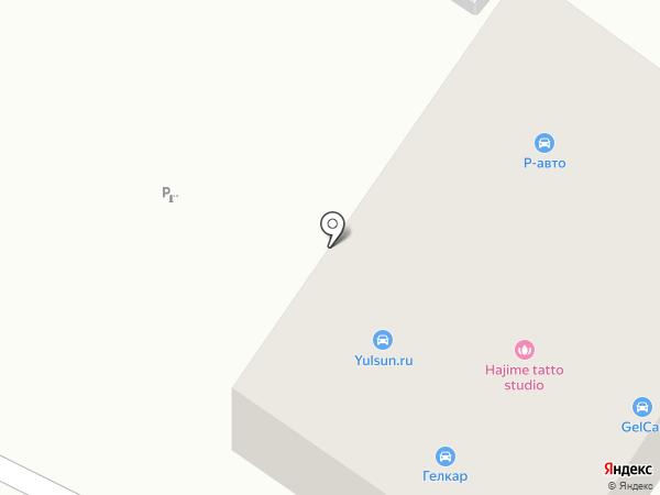 Геленджикское дорожное ремонтно-строительное управление на карте Геленджика