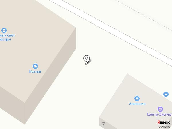 Автопрофи на карте Геленджика