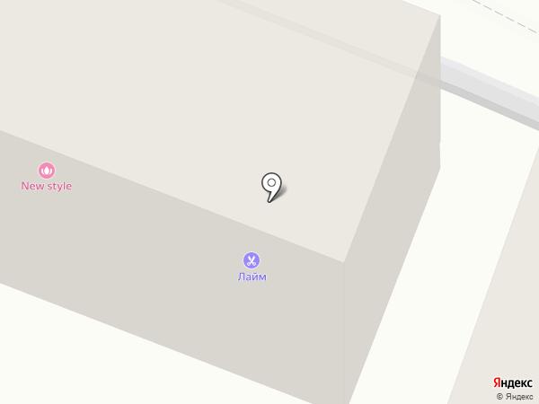 Легион на карте Геленджика