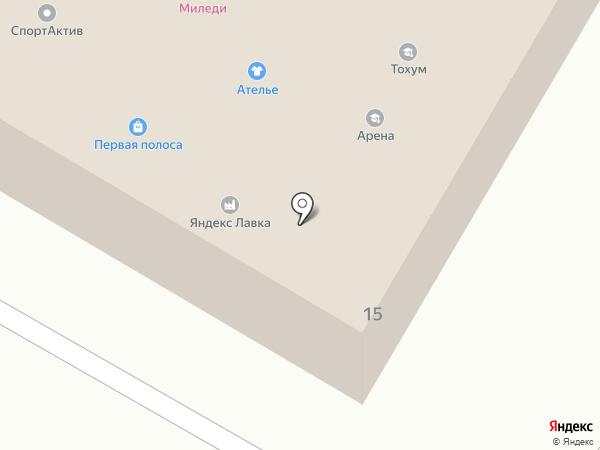 На Молодежной на карте Жуковского