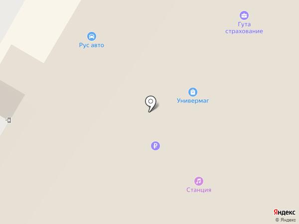 Рус авто на карте Жуковского