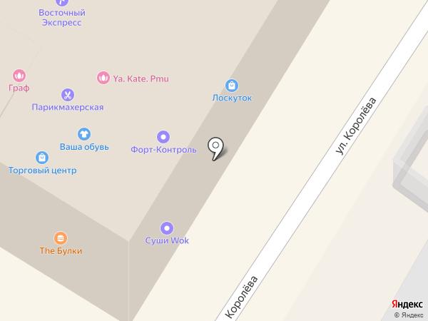 Лоскуток на карте Жуковского