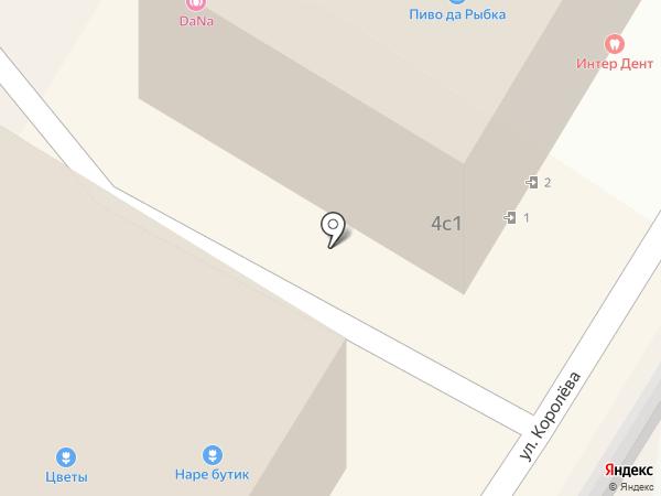 Блеск на дом на карте Жуковского
