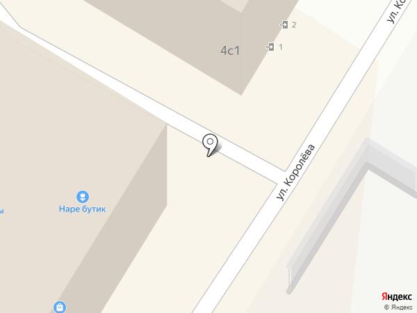 Грумелье на карте Жуковского