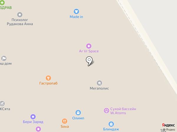 Made in на карте Жуковского