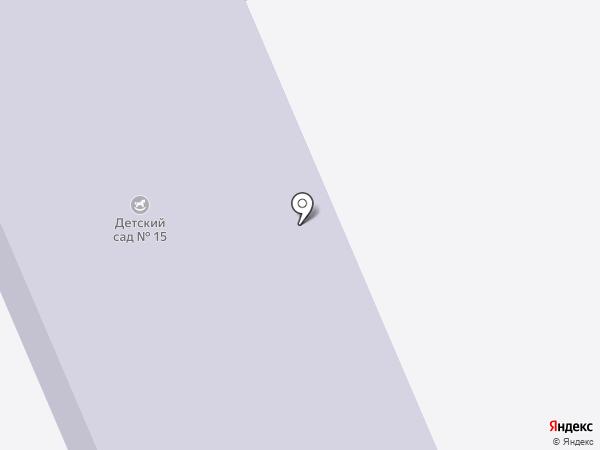 Детский сад №15 на карте Дубовки