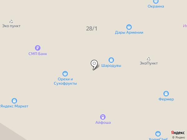 Канцмаркет на карте Жуковского