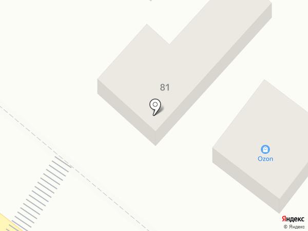 Астери на карте Геленджика