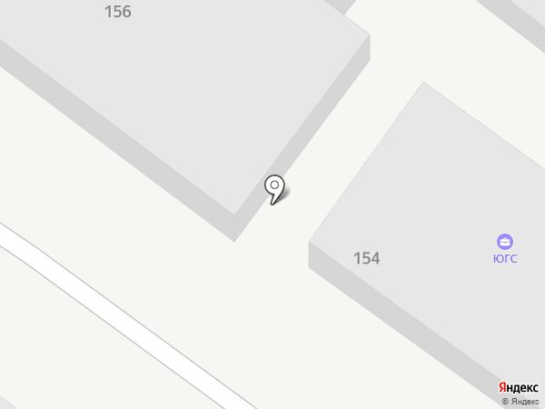 Южгазстрой на карте Геленджика
