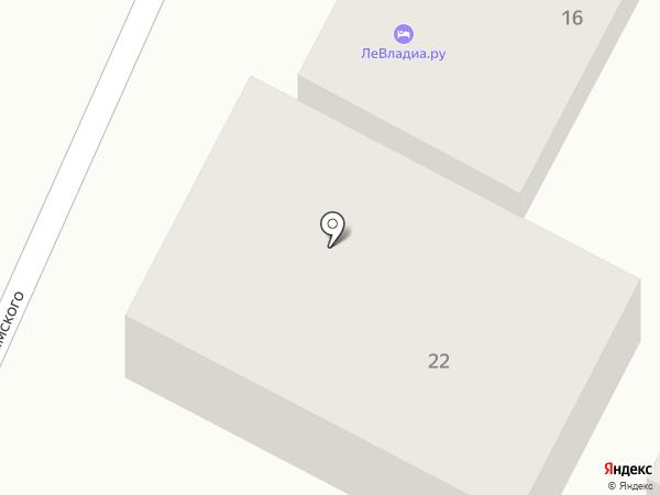 Айсиэль на карте Геленджика