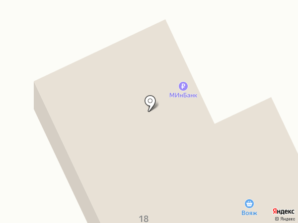 Вояж на карте Дубовки