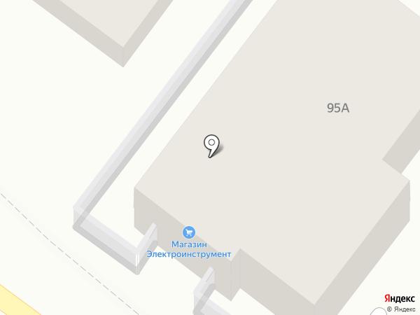 Альфа на карте Геленджика