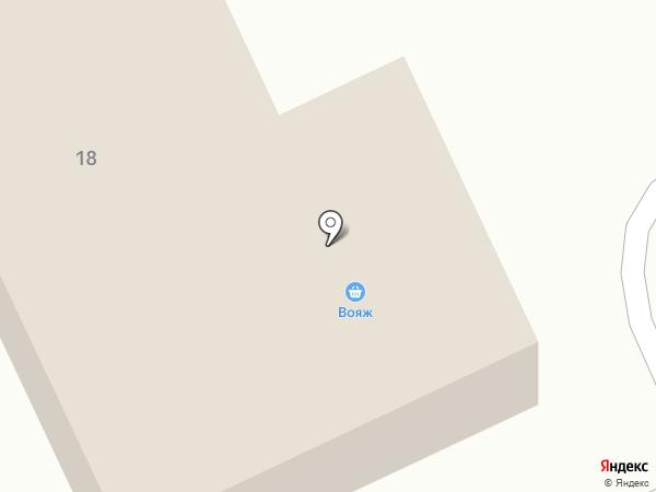 Банкомат, Московский Индустриальный банк на карте Дубовки