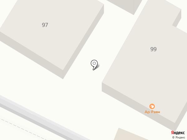 Мэрси на карте Геленджика