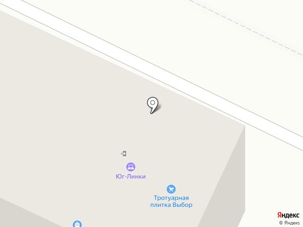 Двери Зодчий на карте Геленджика