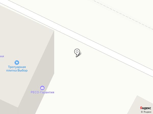 Выбор на карте Геленджика