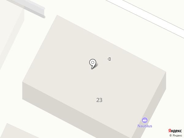 Nautilus на карте Геленджика