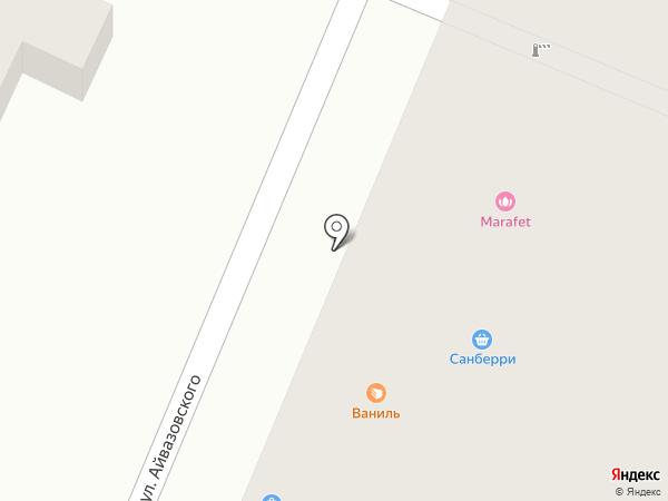 Эконом на карте Геленджика