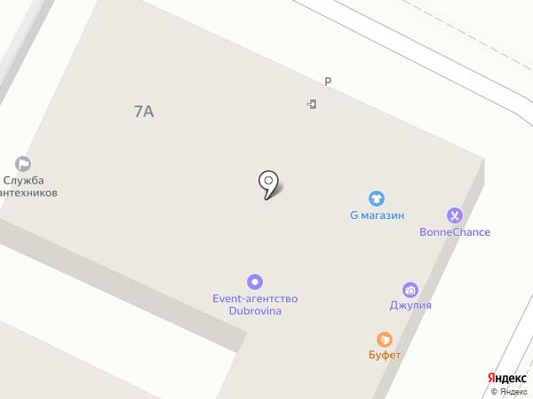 Электро-Сити на карте Геленджика