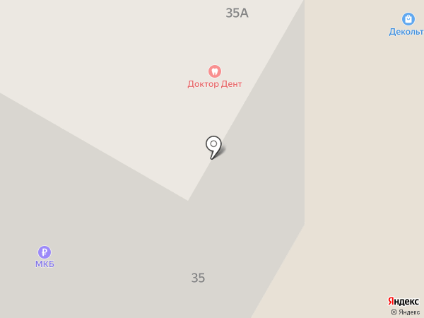 Декольте на карте Жуковского