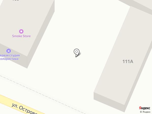 Магазин напольных покрытий на карте Геленджика
