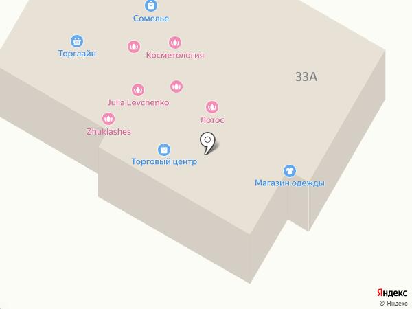Две пятерочки на карте Жуковского