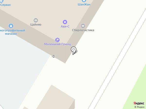 ШанЖан на карте Жуковского
